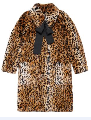 Manteau léopard 199€