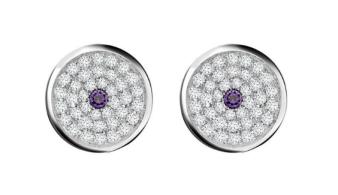 Asprey 167 Button Earrings