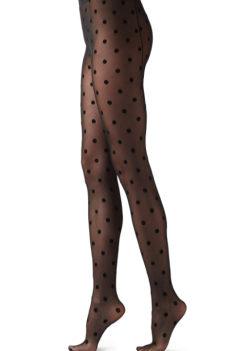 Collants Macro Pois Flock Calzedonia 14,95€