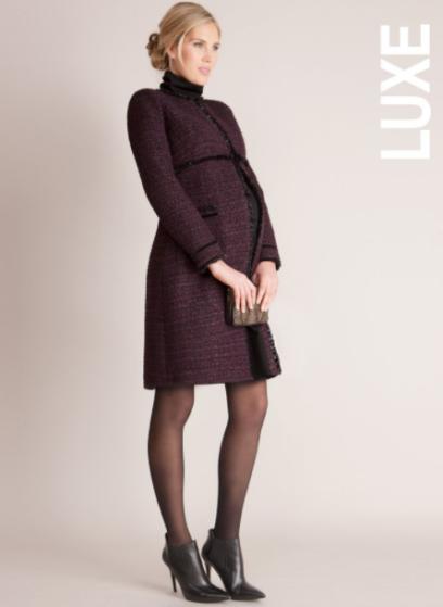 Manteau de grossesse Marina Seraphine