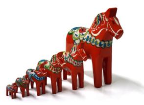 Les chevaux de bois de Dala