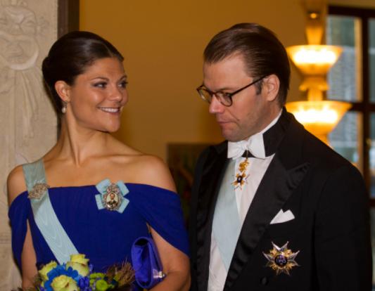 La princesse royale Victoria et le prince Daniel