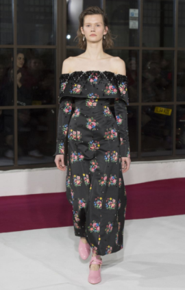 wickstead-decollete-bateau-london-fashion-week-dress