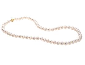 Collier perles de culture Flinois