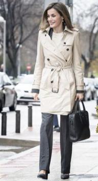 Version femme d'affaires sur la reine Letizia d'Espagne