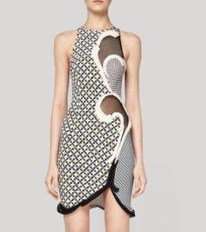 Stella McCartney spring 2012 silk print dress