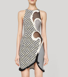 Stella McCartney spring 2012 silk print dress