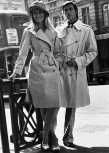 Campagne Burberry 1973