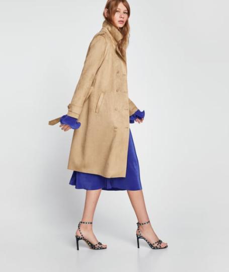 Façon daim Zara 59,95€