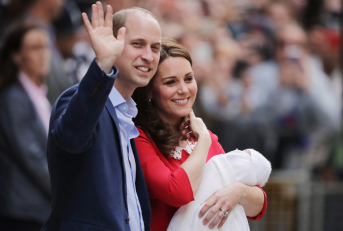 Naissance du prince Louis (Getty Images)
