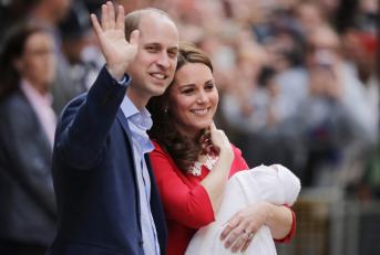 Naissance du prince Louis (Getty Images)