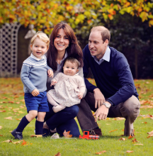 kate-william-enfants-carte-noel-jardin-palais