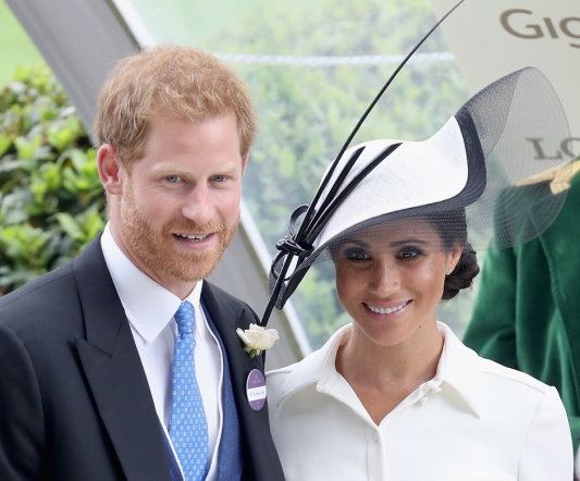 Ascot en Givenchy (Getty Images)
