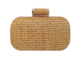 Raffia Straw Clutches Box Ebay Usa $78.04