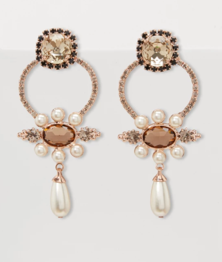 Erdem Floral Earrings