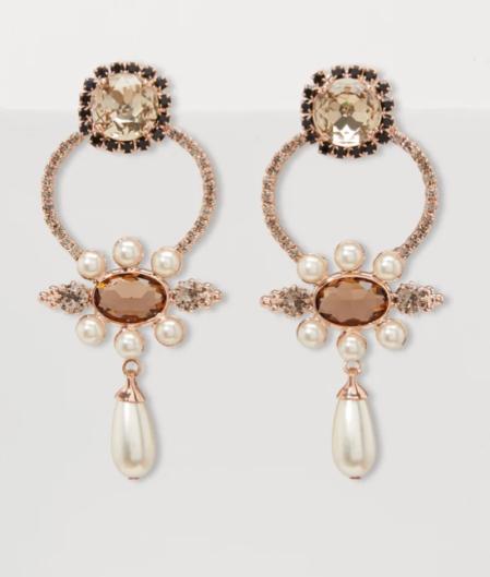 Erdem Floral Earrings