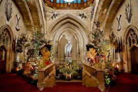 Château Windsor compositions florales
