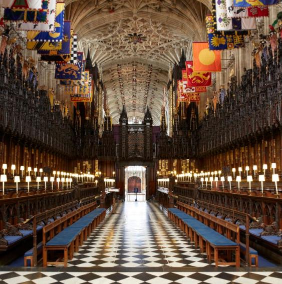 Intérieur chapelle Saint George