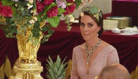 12 juillet 2017 Banquet donné en l'honneur de la reine Letizia