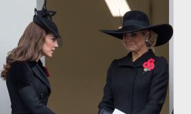 8 novembre 2015, Remembrance Day en présence de la reine Maxima
