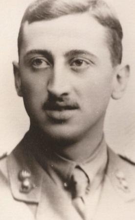 Lionel Lupton tué à la Bataille de la Somme à 24 ans