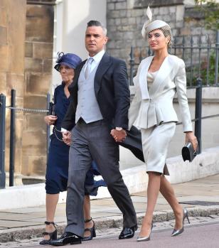 Robbie et Ayda Williams