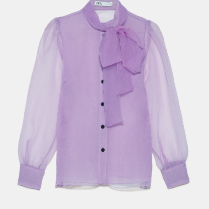 Blouse organza Zara 39€95