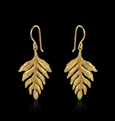 Catherine Zoraida Fern earrings