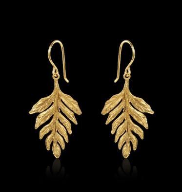 Catherine Zoraida Fern earrings
