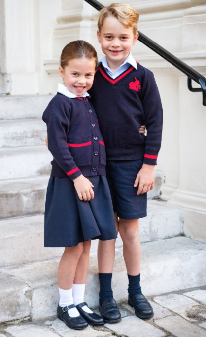 george-charlotte-school-uniformes