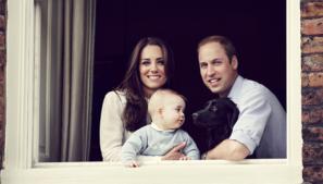 Avec George 8 mois au balcon de KP